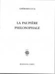 Poésie, francophone, Roumanie, Ghérasim Luca, José Corti, Jean-Pierre Longre