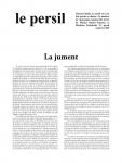 Revue, poésie, nouvelle, roman, images, Marius Daniel Popescu, Matthias Tschabold, Alexandre Voisard, Le Persil, Jean-Pierre Longre