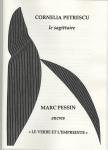Poésie, gravure, francophone, Roumanie, Cornelia Petrescu, Marc Pessin, Le verbe et l'empreinte